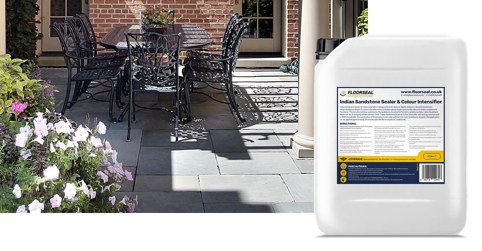 How to seal a sandstone patio