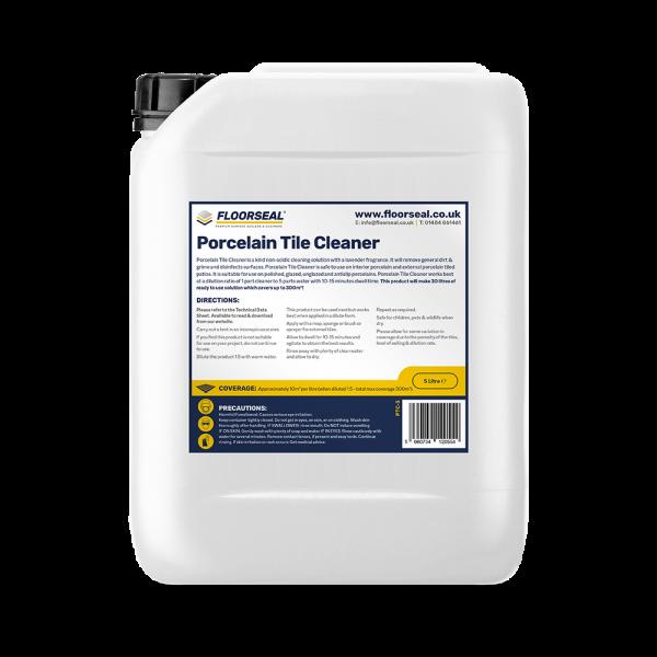 Floorseal Porcelain Tile Cleaner.