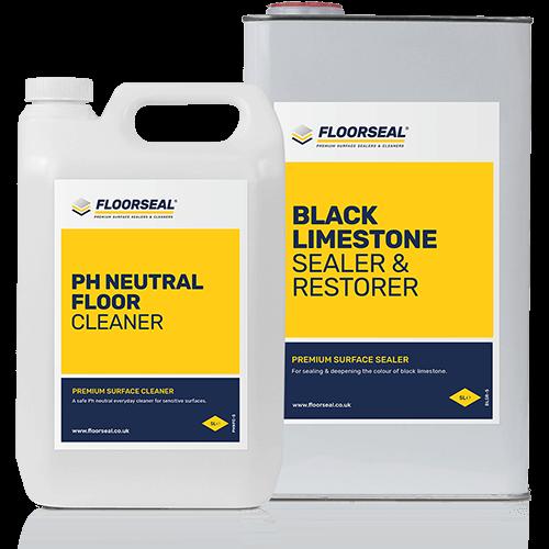 Black limestone products