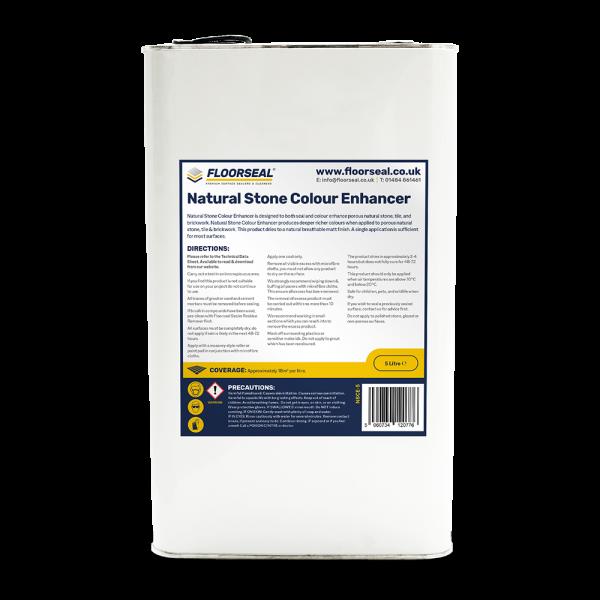 Floorseal Natural Stone Colour Enhancer. 5 litre
