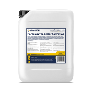Floorseal Porcelain Tile Sealer for Patios. 5 Litre