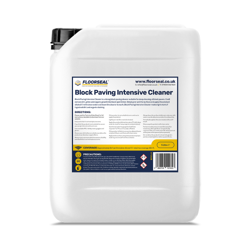Floorseal Block Paving Intensive Cleaner (5 Litre)