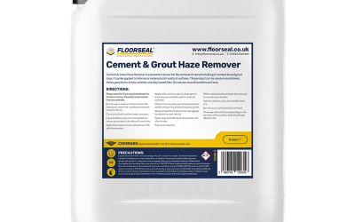 Cement and Grout Haze Remover
