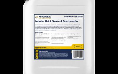 Interior Brick Sealer & Dustproofer