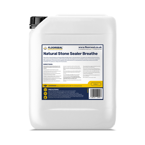 Floorseal Natural Stone Sealer Breathe (5 Litre)