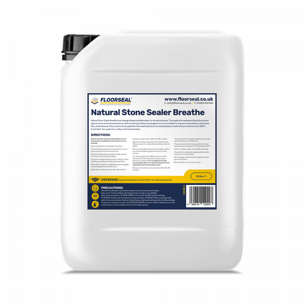 Floorseal Natural Stone Sealer Breathe (5 Litre)