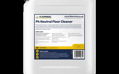Ph Neutral Floor Cleaner