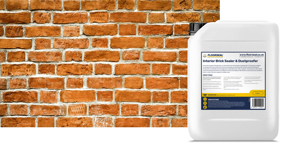 How to seal & dustproof an exposed internal brick or masonry wall