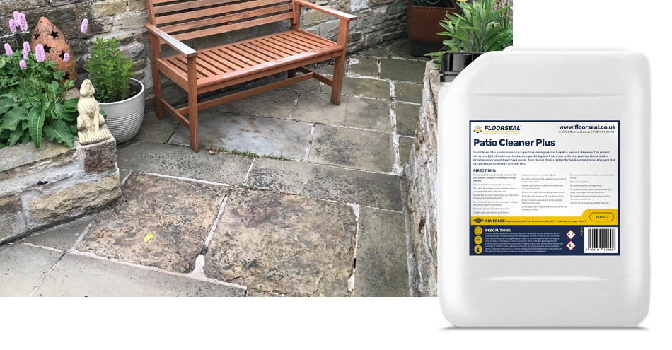 How to clean natural stone patios