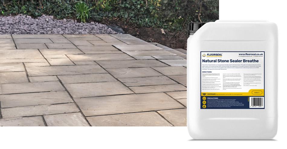 How to seal a kandla grey sandstone patio