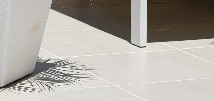 How to seal outdoor porcelain tiled floors