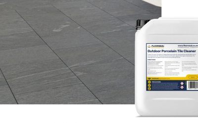 How to clean outdoor porcelain tiles