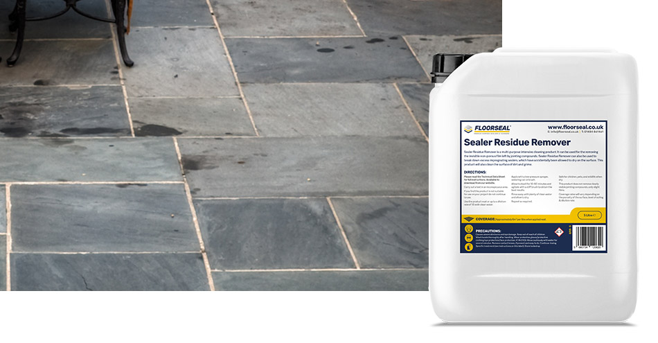 How to clean a slate patio