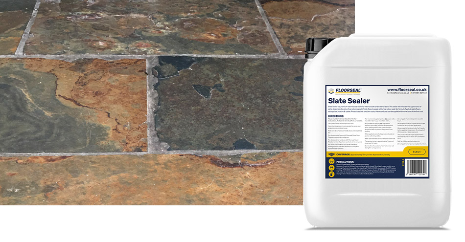 How to clean & seal an interior slate floor